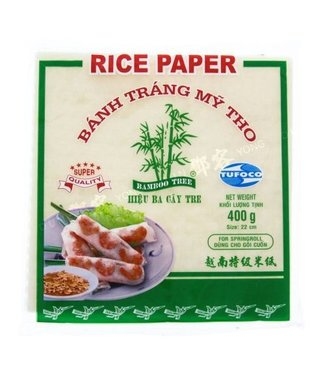 Rice Paper 22cm square Bamboo Tree 400gr