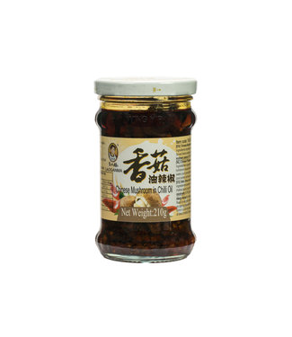 Chinese Mushroom in Chilli Oil 210gr Laoganma