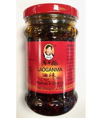 Peanuts in Chilli Oil 210gr Laoganma