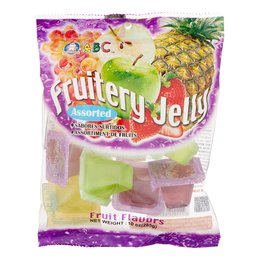 Fruitery jelly assorted 285gr abc