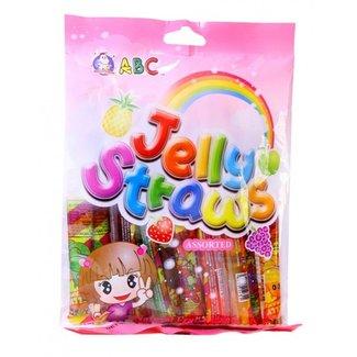 Jelly Straws Assorted 260gr ABC