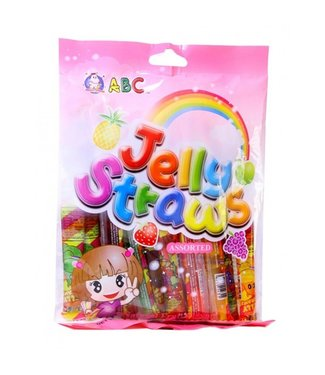 Jelly Straws Assorted 260gr ABC