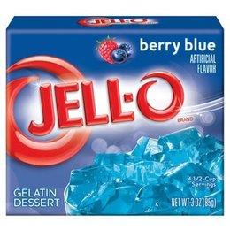 Jell-o Berry Blue Gelatin 85gr | 3 OZ