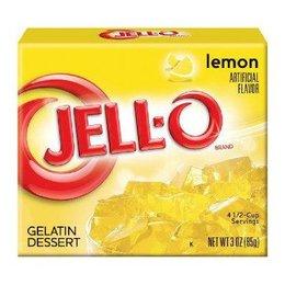Jell-o Lemon Gelatin 85gr | 3 OZ