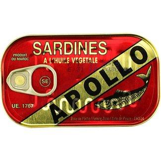Apollo Sardines in Vegatable Oil 125gr