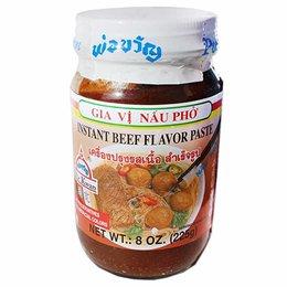 Por Kwan Instant Beef Flavor Paste 225gr