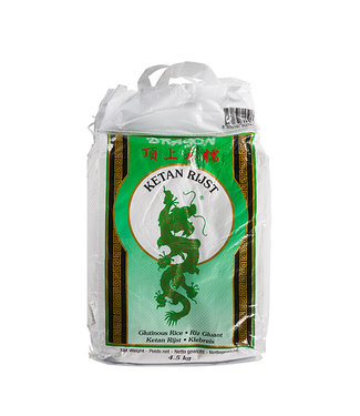 Green Dragon Dragon Glutinous Rice (ketan rice) 4.5kg