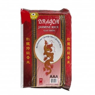 Dragon Jasmijn rijst 20 kg lange korrel Red Dragon