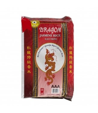 Dragon Jasmijn rijst 20 kg lange korrel Red Dragon