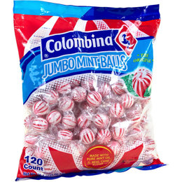 Jumbo Mint Balls 120 pieces Colombina