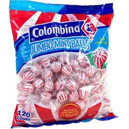 Jumbo Mint Balls 120 stuks Colombina