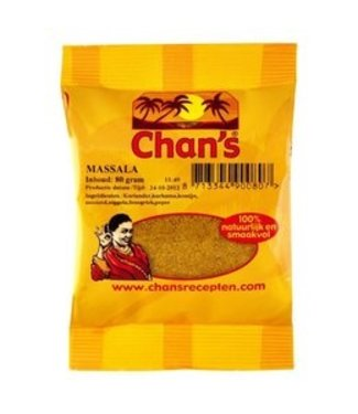 Chan's / Chans Chan's masala kerrie 80 g