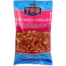 TRS Crushed Chillies Extra Hot 100gr (3.5oz)