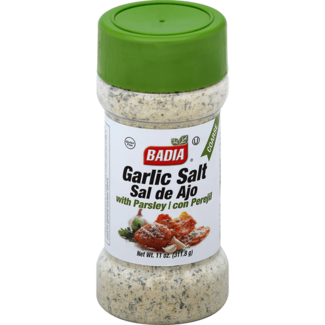 Badia Badia Garlic Salt with Parsley 11oz (311.8gr)