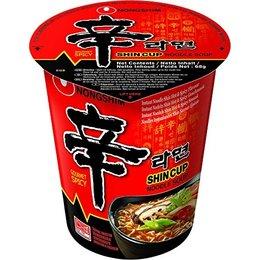 Nongshim Shin Ramyun Cup Noodle 68gr