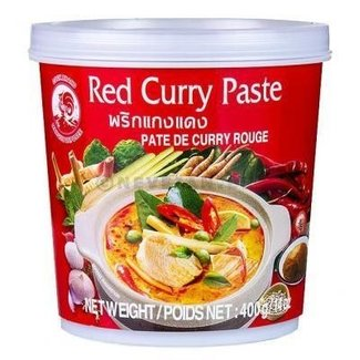 Cock Brand Red Curry Paste 400gr
