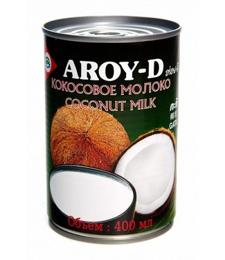 Aroy-D Aroy-D Coconut Milk Green can 400 ml