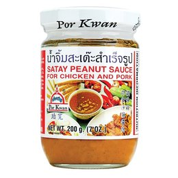 Por Kwan Por Kwan - Satay Peanut Sauce for Chicken and Pork 200gr