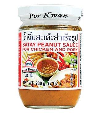 Por Kwan Por Kwan - Saté Pindasaus voor Kip en Varkensvlees 200gr