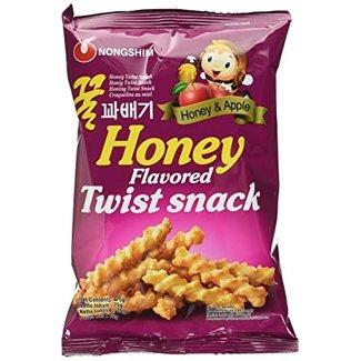 NongShim Nongshim Honey Flavoured Twist Snack
