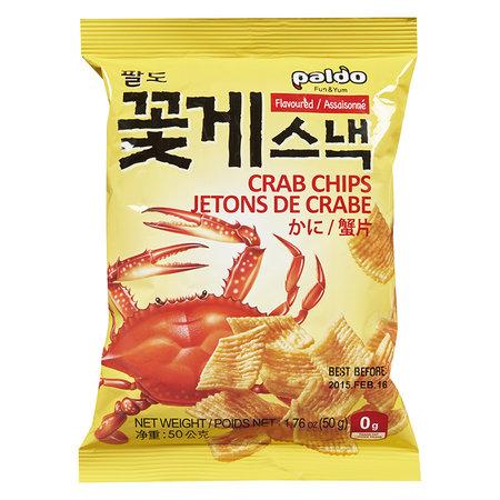 Paldo Paldo Crab Chips 50g