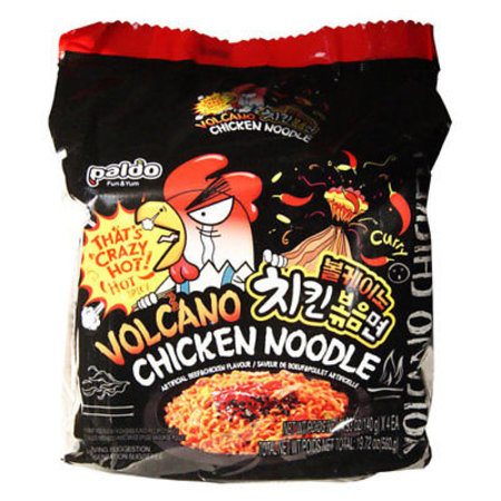 Paldo Paldo Volcano Chicken Korean Noodle