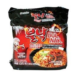 Paldo Paldo Bulnak Hot Octupus Instant Korean Noodle 4-pack