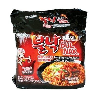 Paldo Paldo Bulnak Hot Octupus Instant Korean Noodle