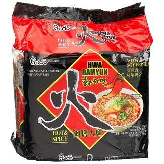 Paldo Paldo Hwa Ramyun Hot & Spicy 5-pack
