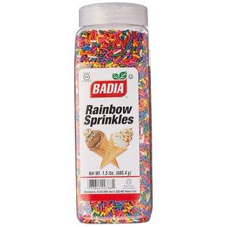 Badia Badia Rainbow Sprinkles 680.4gr
