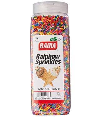 Badia Badia Rainbow Sprinkles 680,4gr