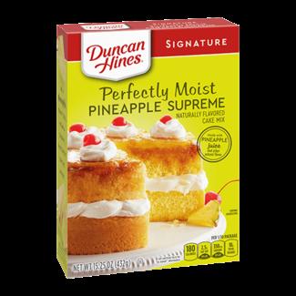 Duncan Hines Pineapple Cake mix