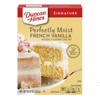 Duncan Hines Duncan Hines French Vanilla Cake mix