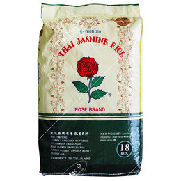 Rose Brand Thai Jasmijn Rijst 18kg