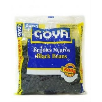 Goya Goya small black beans 500g