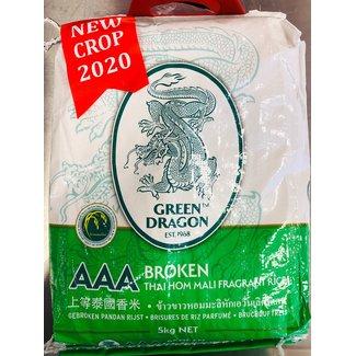 Green Dragon Green Dragon broken pandan rice 5 kg