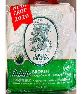 Green Dragon Green Dragon gebroken pandan rijst 5 kg