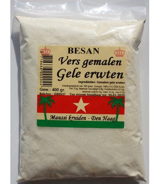 Besan - Yellow Peas flour 400gr Maussi Spices