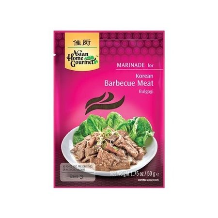 Asian Home Gourmet Marinade for Korean Barbecue Meat Bulgogi 50g