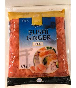 Golden turtle brand Sushi Ginger Pink 1,5 kg