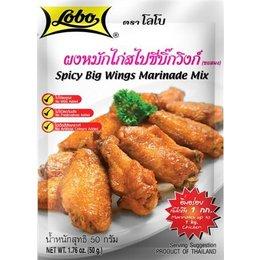Lobo Lobo Spicy big wings marinade mix 50g