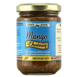Lekker Bekkie Lekker Bekkie  Mango Chutney medium hot 145g