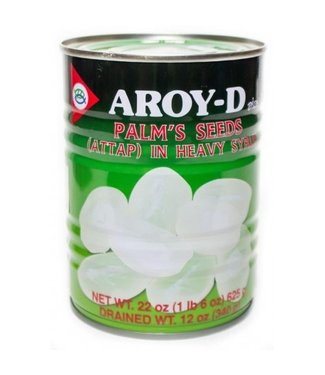 Aroy-D Palm Seeds / Attap in Syrup 625gr