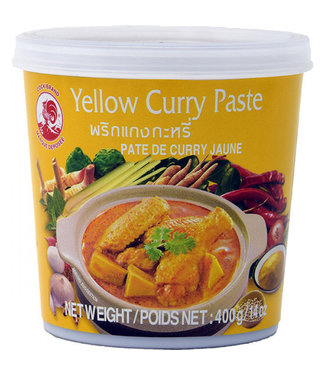 Cock Brand Yellow Curry Paste 400gr
