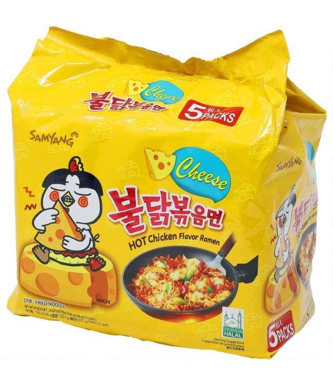 Samyang Hot Chicken Ramen Cheese 5 packs