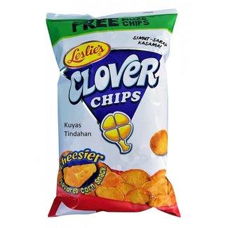 Leslie's Leslie's Clover Chips Cheese 145gr