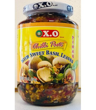XO Chilli Paste with Sweet Basil Leaves 454gr