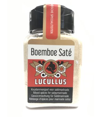 Lucullus Boemboe sate - Lucullus