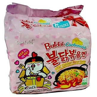 Samyang Buldak Carbonara Hot chicken Ramen 5-pack