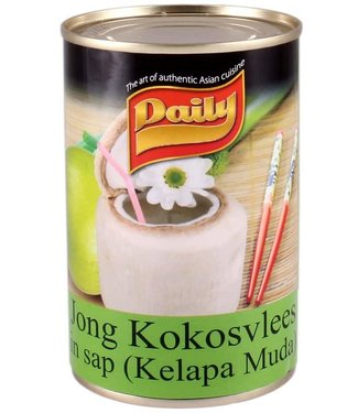 Daily Young Coconut meat in juice 415g
